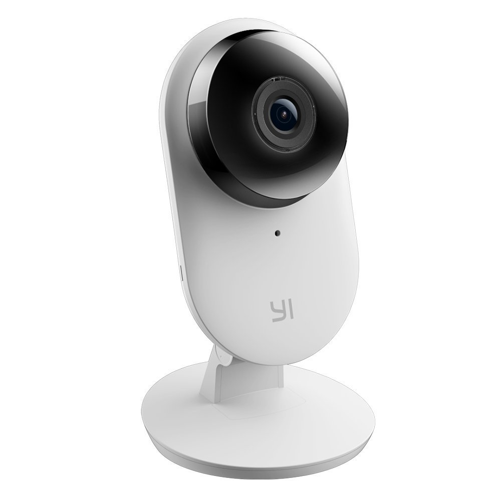 YI Home Security Camera - 32GB MicroSD Card, Wide Angle Lens, Distortion Correction Enhanced Audio Human Detection Baby Crying