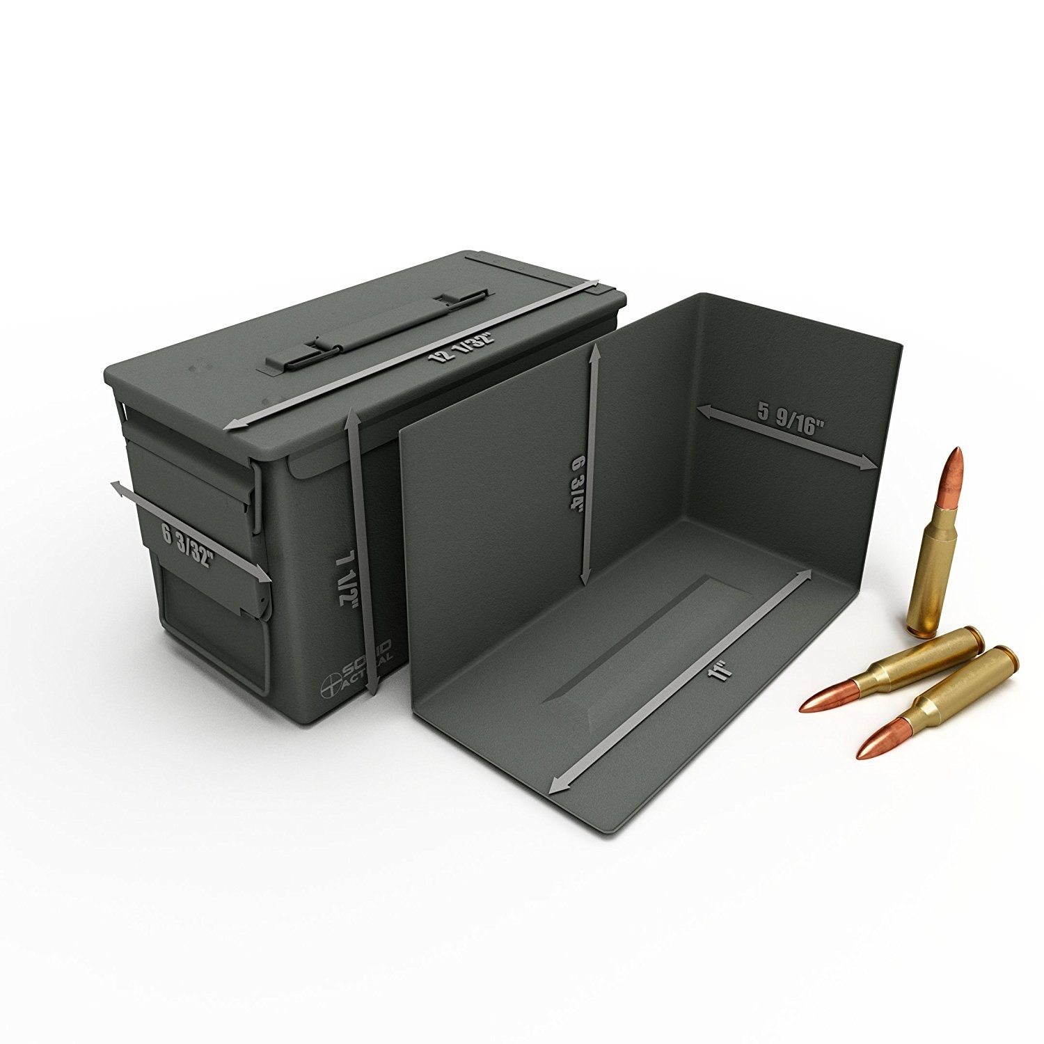 Solid Tactical 50 Caliber Ammo Can
