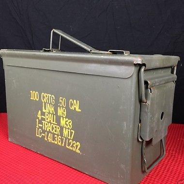U.S. Military  Surplus Ammo Can