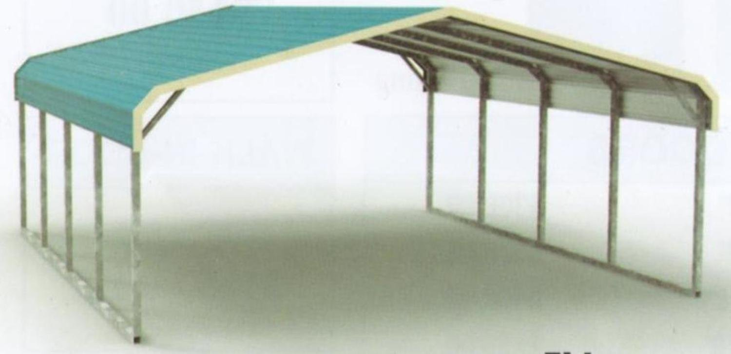 Eagle Regular Metal Carport Kit