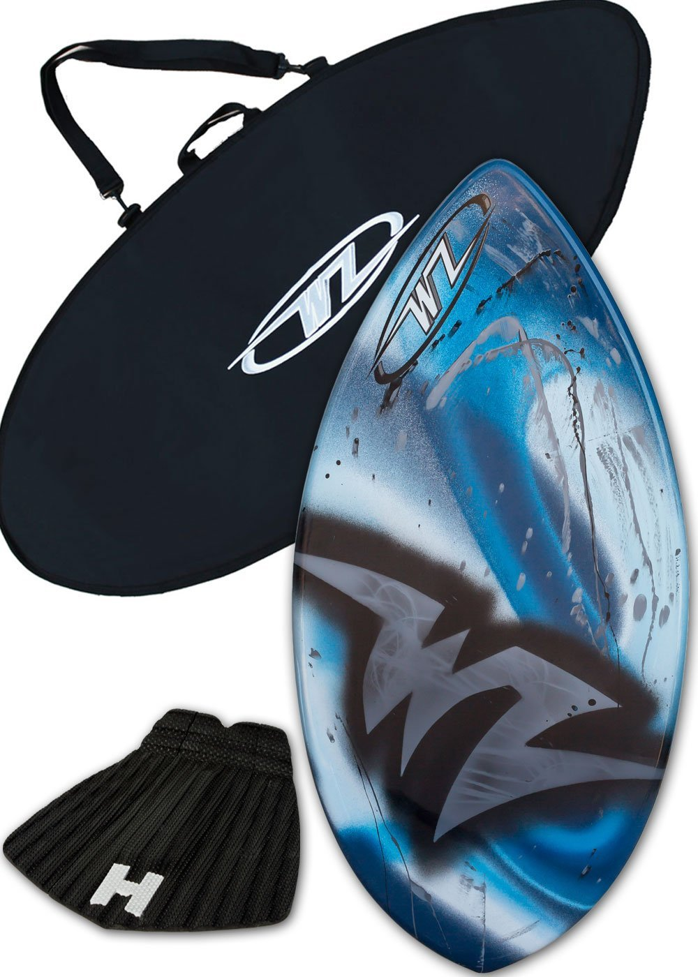 Wave Zone The Edge Fibreglass Skimboard