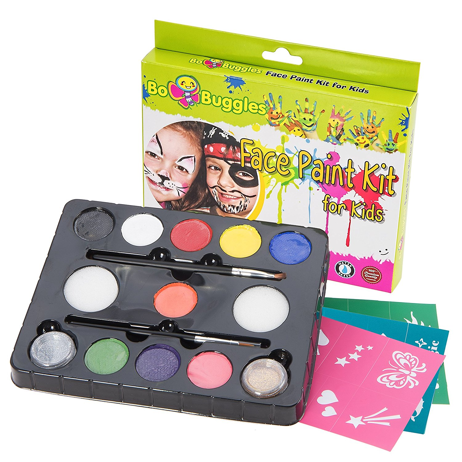 Bo Buggles Original Buggly Face Paint Kit