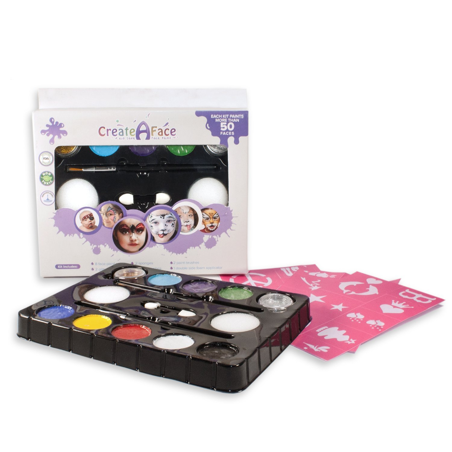 Create A Face Face Paint Kit