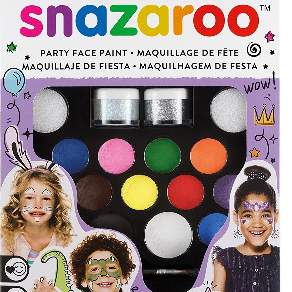 Snazaroo Face Paint Ultimate Party Pack – Available in 2 Different Sets