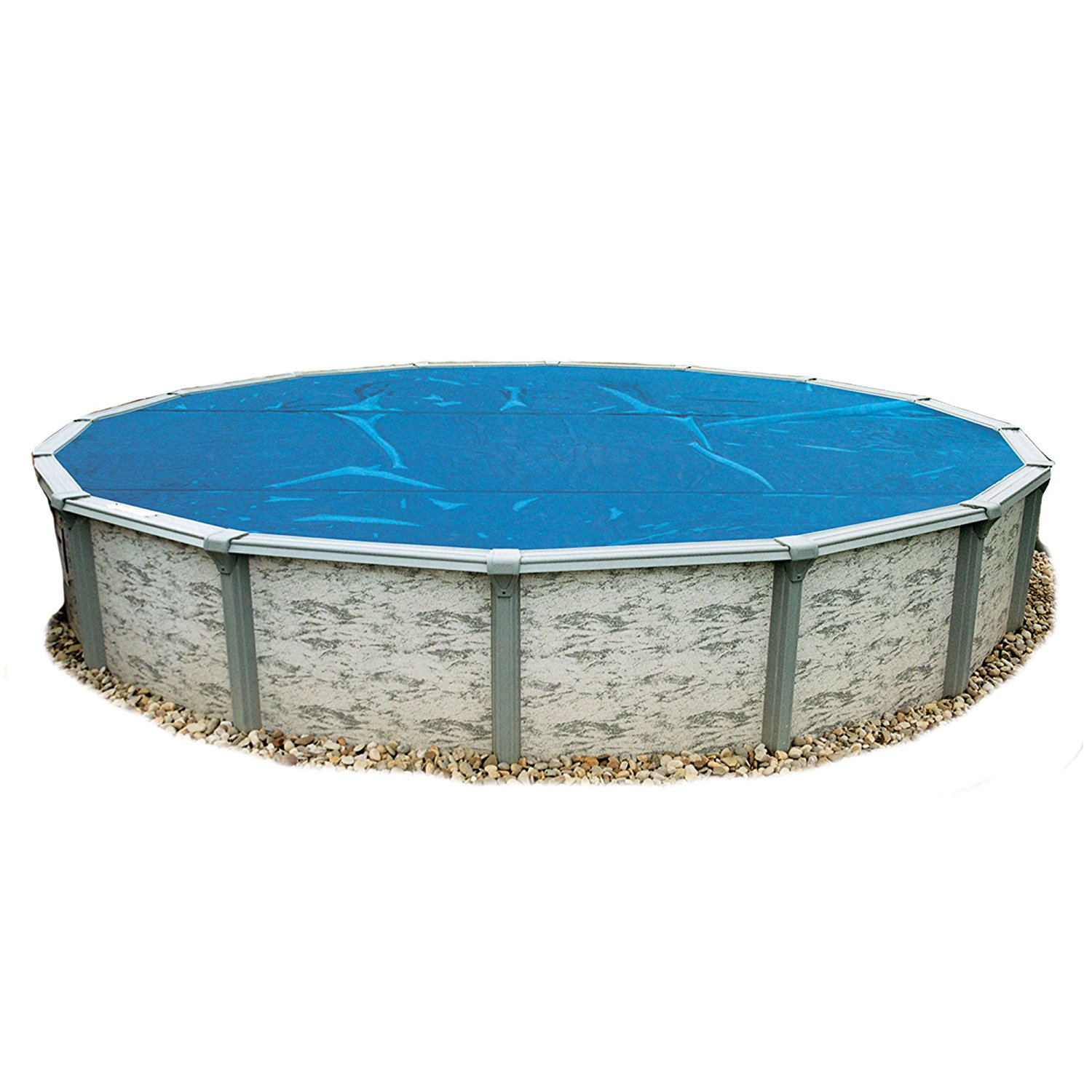Blue Wave Round Above-Ground Pool Cover