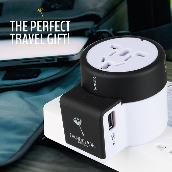 Dandelion Archetype Universal Travel Adapter