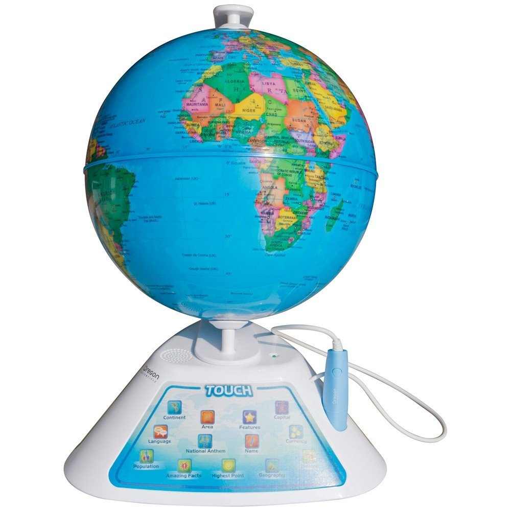 Oregon Scientific Smart Globe Discovery with Interactive Pen