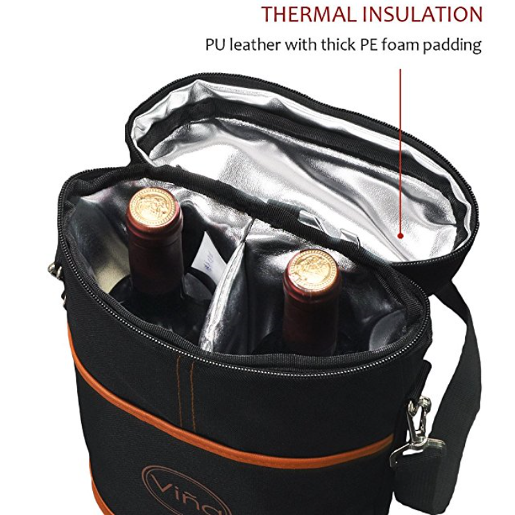 VINA Wine Insulated Tote Bag