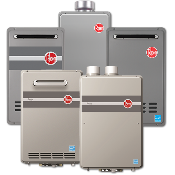 Rheem Indoor Direct Vent Tankless Water Heater