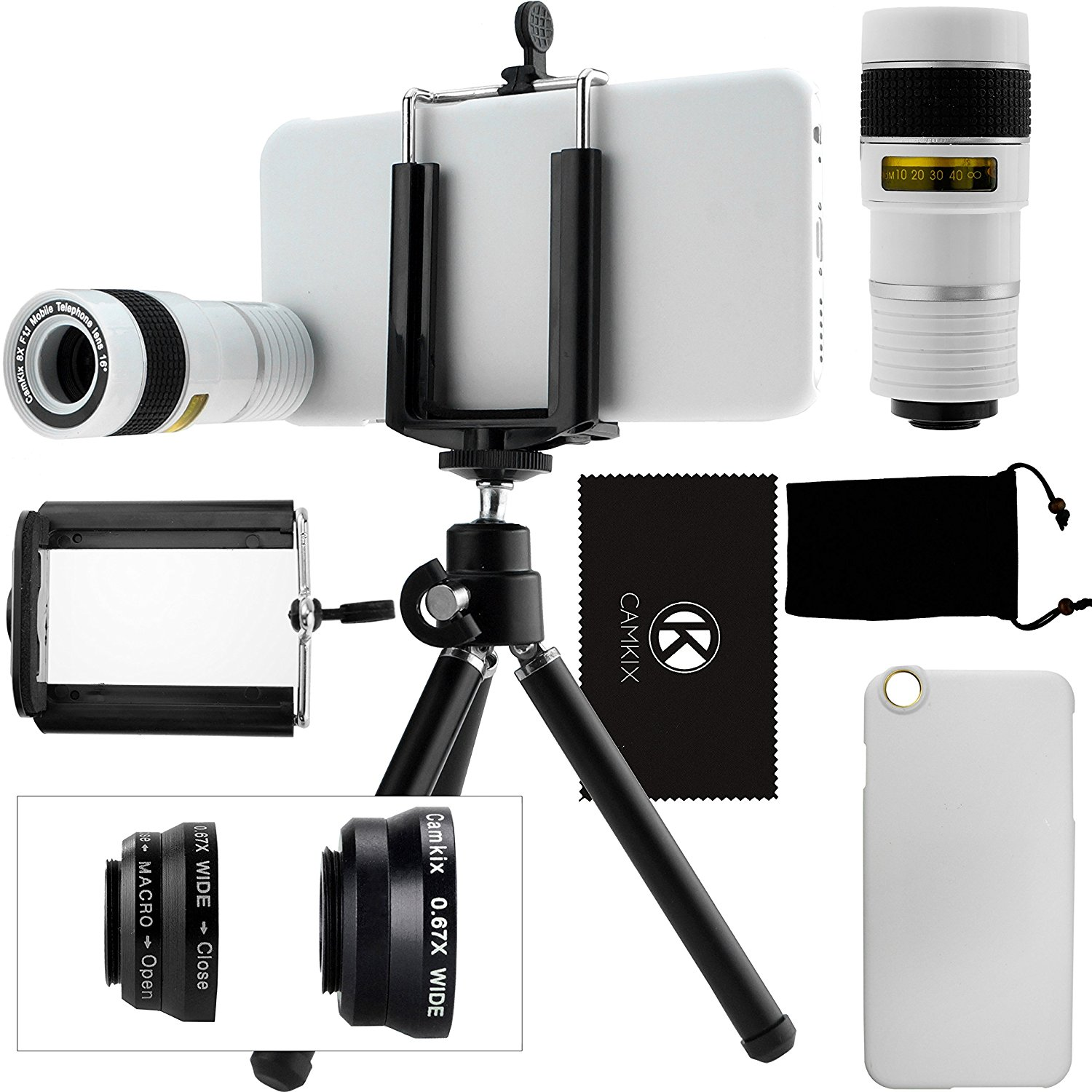 CamKix Camera Lens Kit for iPhone 6 / 6S