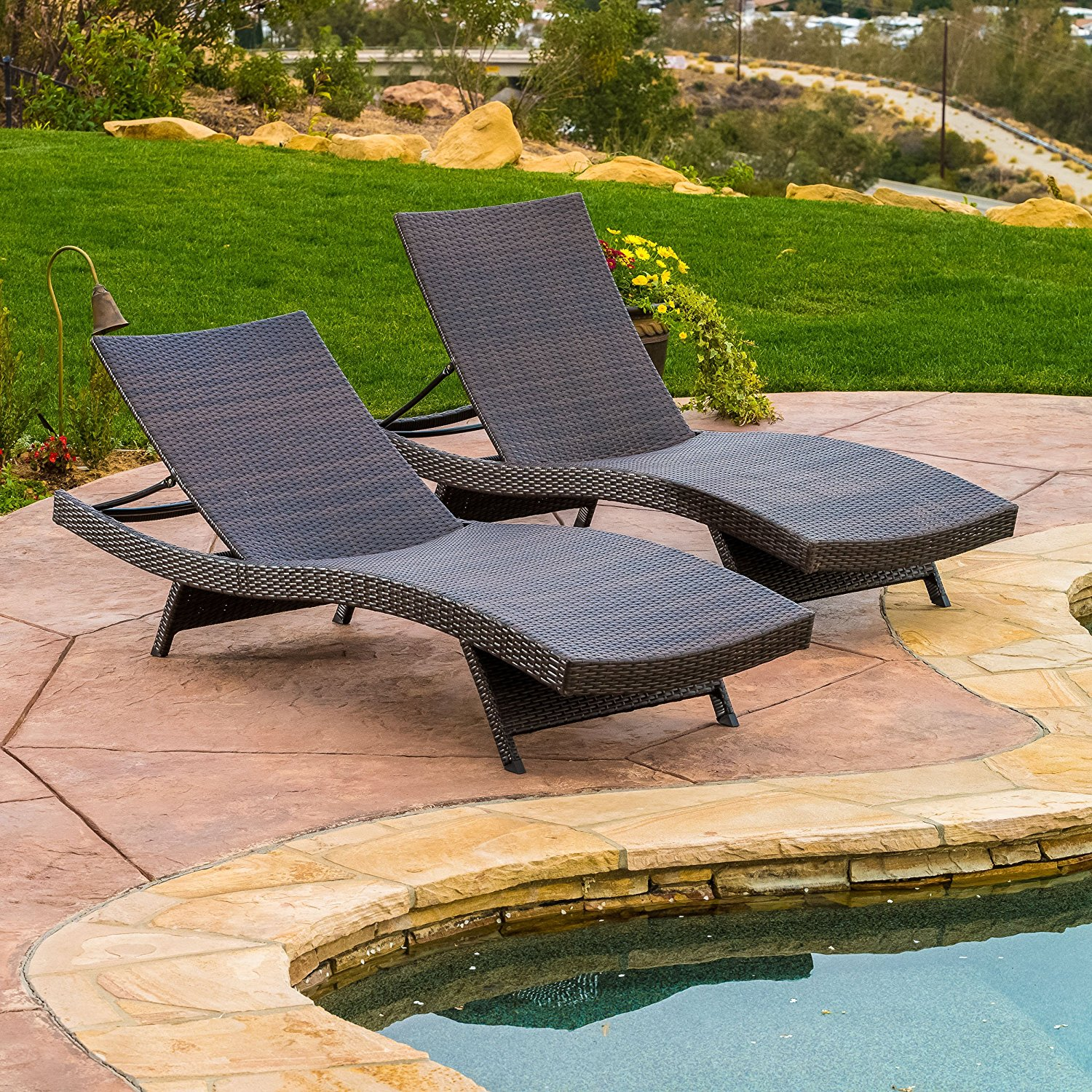 GDF Lakeport Adjustable Chaise Lounge Chair – Available in 3 Sizes & 18 Colors