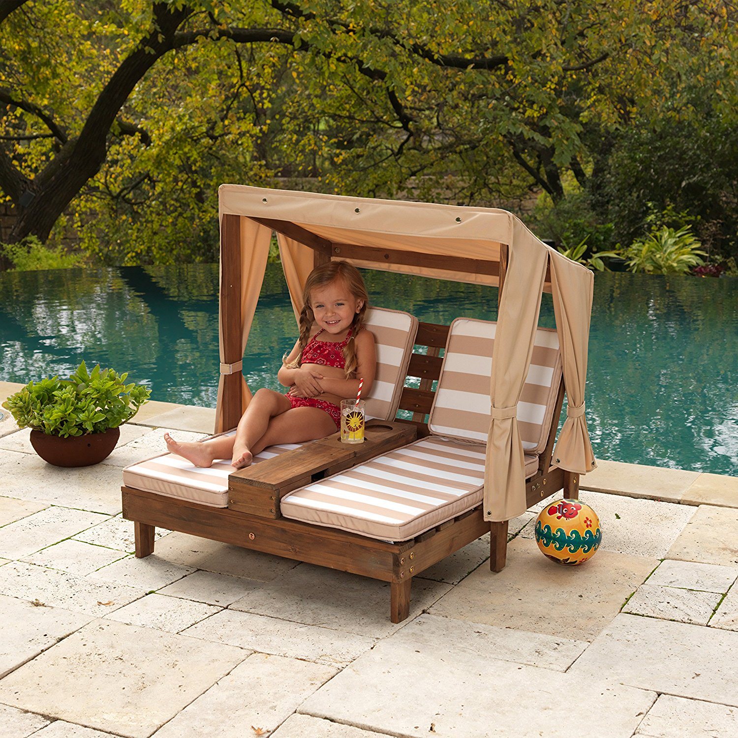 KidKraft Double Chaise Lounge Chair
