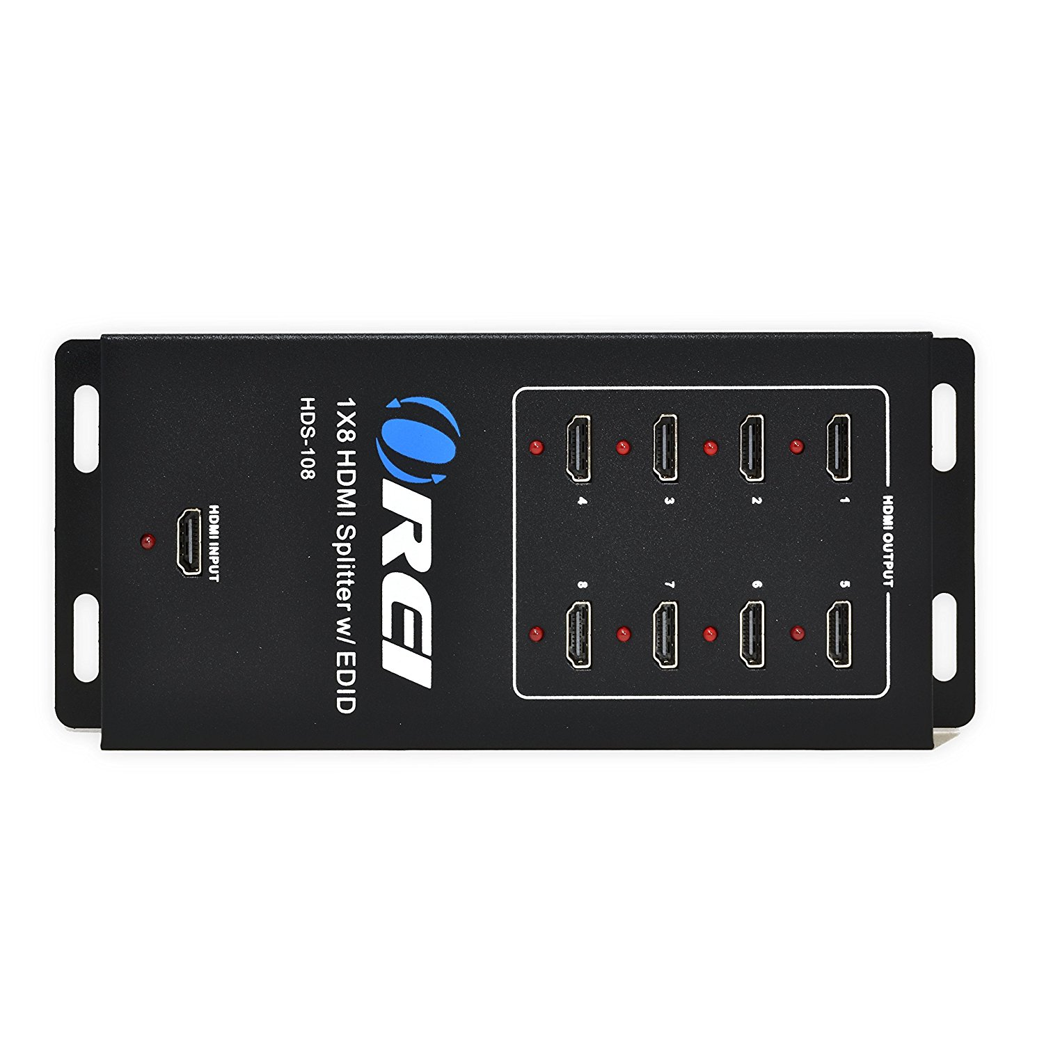 Orei Powered 1080P Certified HDMI Splitter