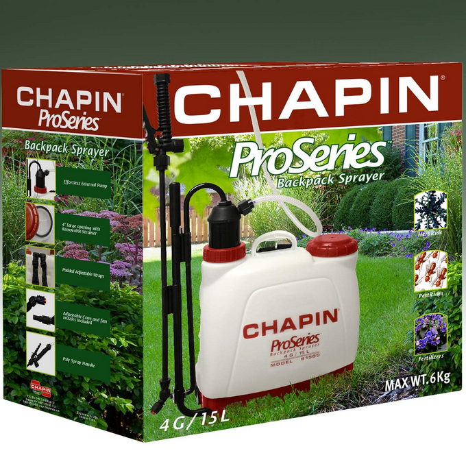 Chapin 4 Gal Motorized Backpack Sprayer