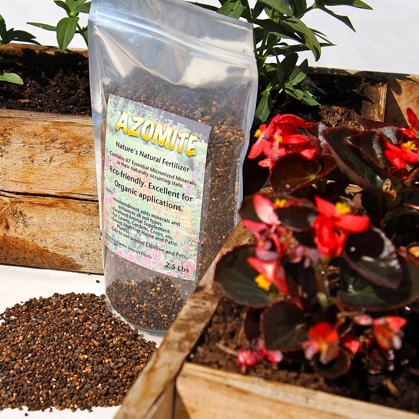 Azomite Organic Fertilizer Booster