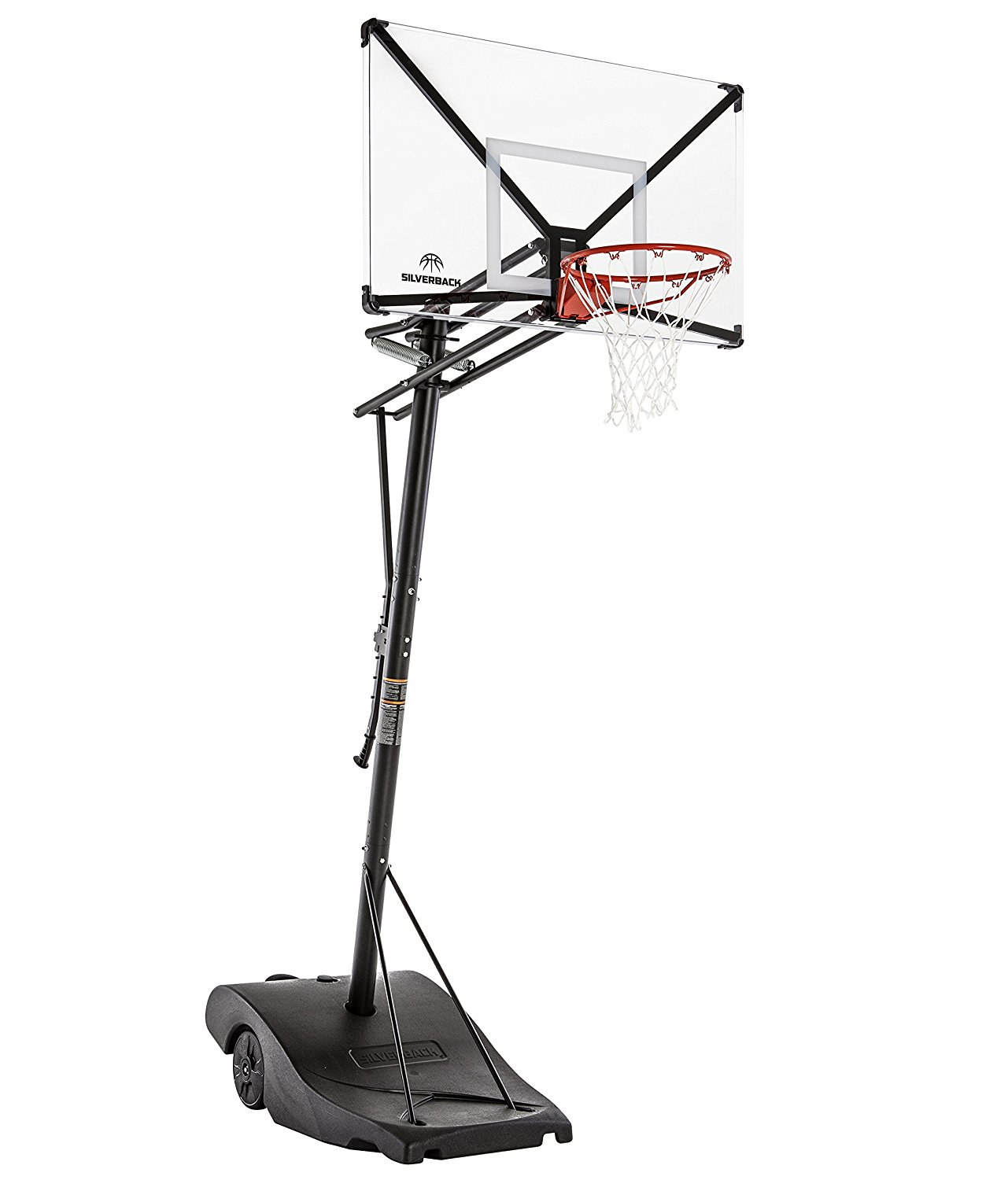 Silverback NXT Portable Basketball Hoop System – Available in 2 Sizes