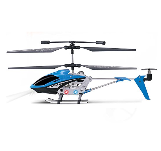 Haktoys Mini 3.5 Channel RC Helicopter with Gyroscope