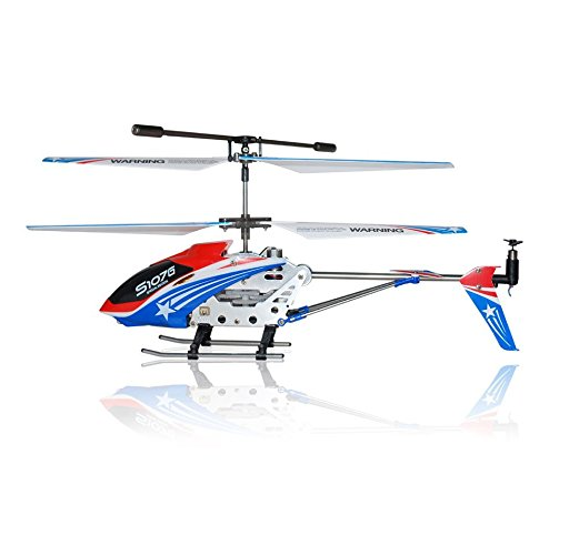 Syma Special Edition RC Helicopter (through RC Toys Village) - American Flag Colors Theme, 3 Channels