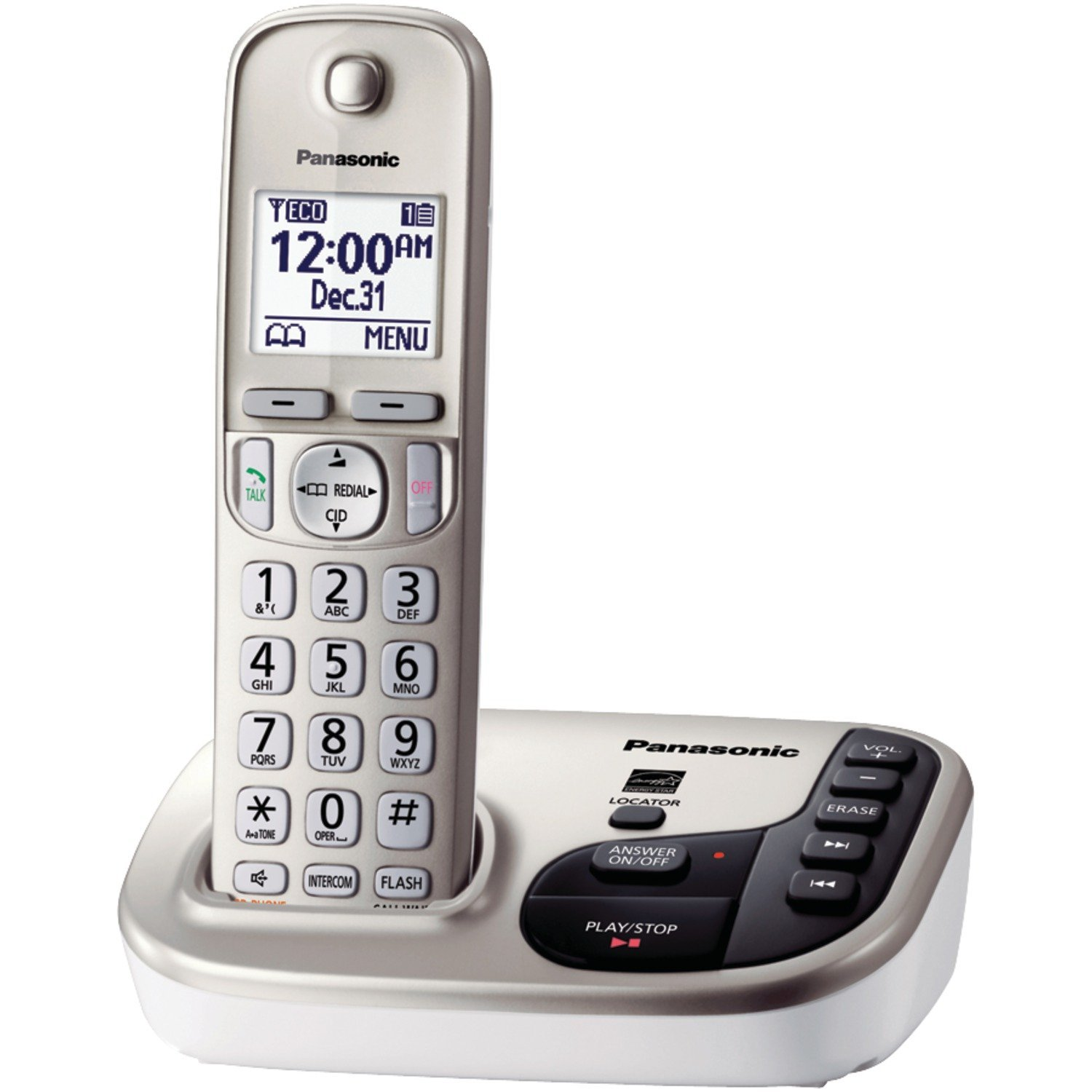 Panasonic Expandable Digital Cordless Answering System – Ringer ID, Call Block, Multiple Styles Available