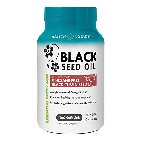 Health Logics Black Cumin Seed Gel Caps