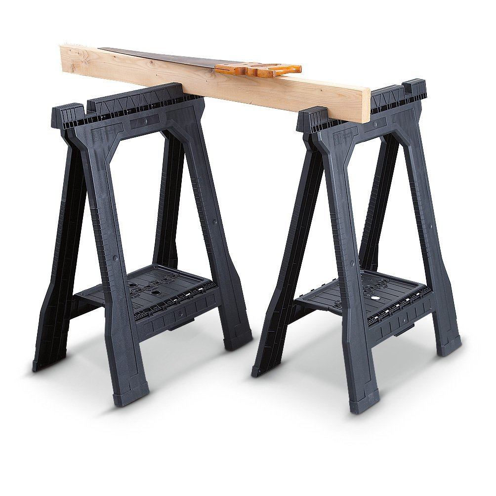 Stanley Junior Plastic Folding Sawhorse