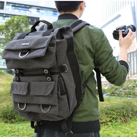 Evecase Travel Camera Backpack