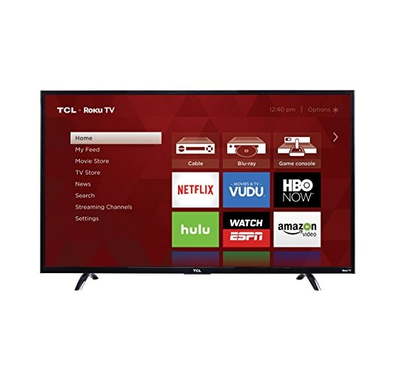 TCL Roku Streaming Smart 4K LED TV
