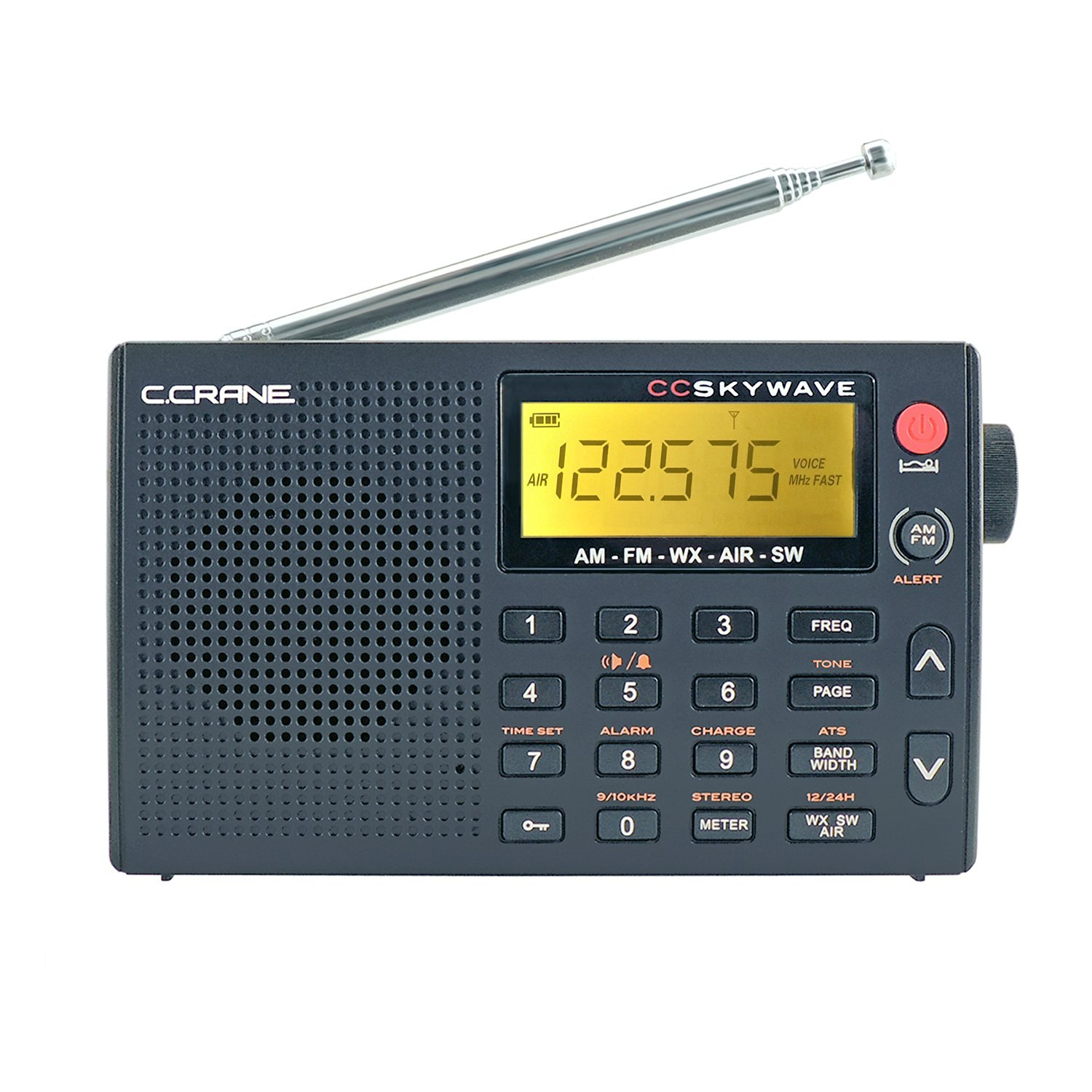 C Crane Skywave Travel Shortwave Radio