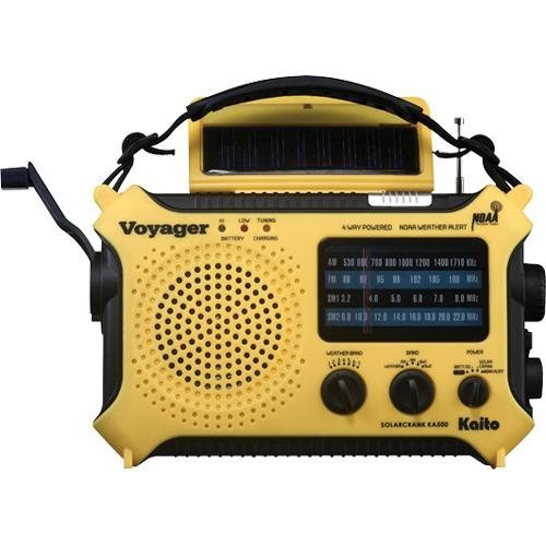 Kaito 5-Way Weather Alert Shortwave Radio