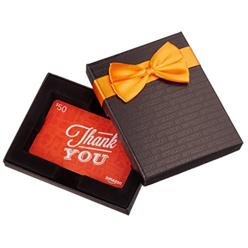 Amazon Gift Card  in Gift Box -  Physical Gift Card Available in Any Amount, Multiple Design and Packaging Options