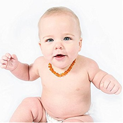 Lolly Llama Amber Teething Necklace