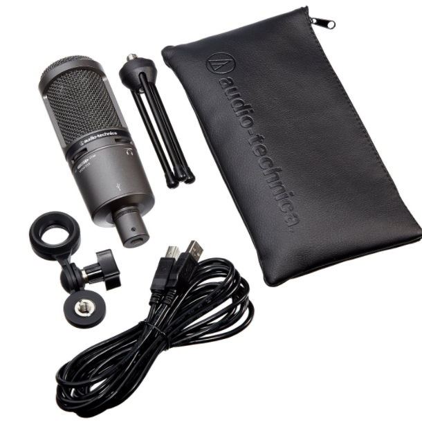 Audio-Technica Plus Cardioid Condenser USB Microphone