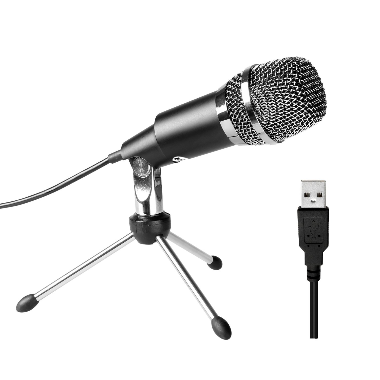 Fifine Plug & Play Home Studio USB Condenser Microphone