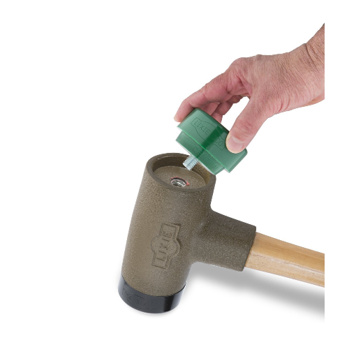 Lixie Dead Blow Hammer with Hickory Safety Handle