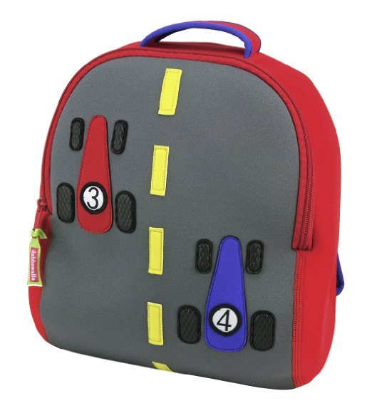Dabbawalla Race Car Backpack – Kids' Backpack