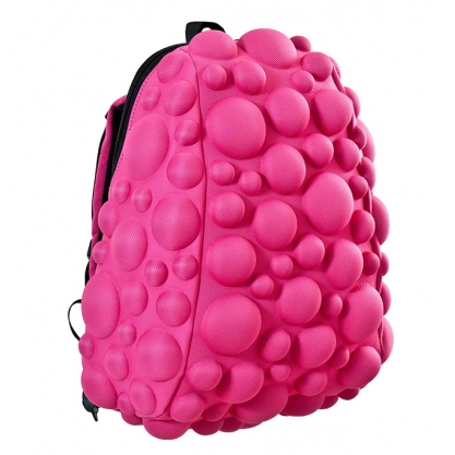 MadPax Bubble Half Backpack with Padded Straps – Fun 3D Design