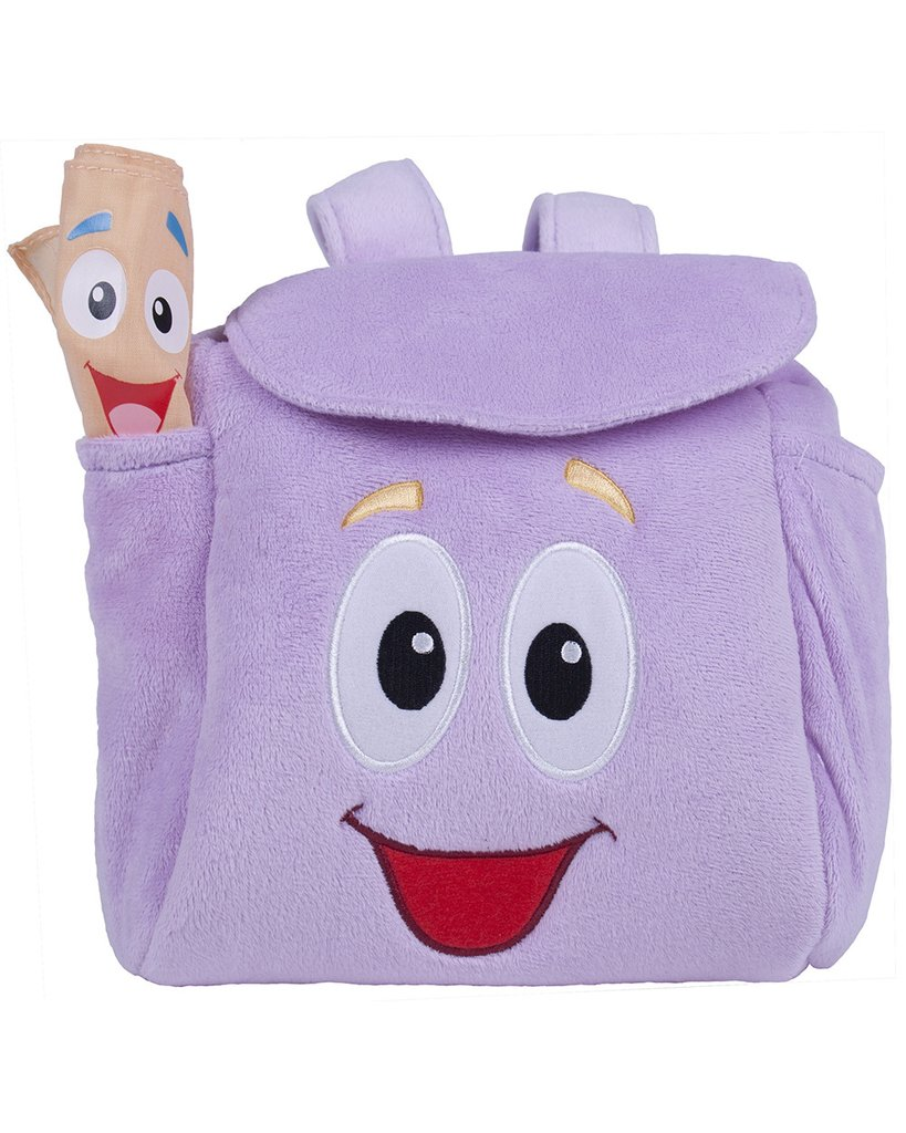 Nickelodeon's Dora The Explorer Backpack - Plush Toddler Bag