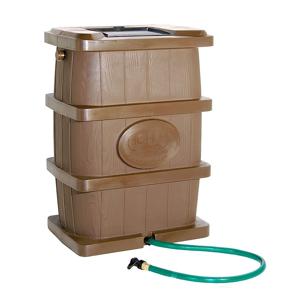Achla Brown Rain Barrel
