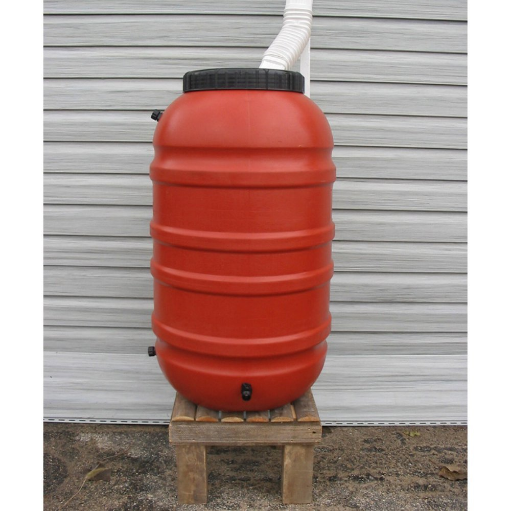 Upcycle Terra-Cotta Rain Barrel