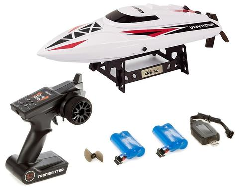 USA Toyz Voyager Remote Control Boat - Good for Pools Lakes and Outdoor Adventure, 2.4GHz High Speed Electric Boat