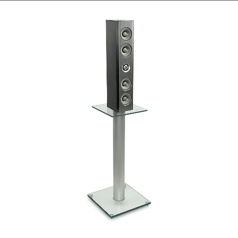 Mount-It! Glass Speaker Stands