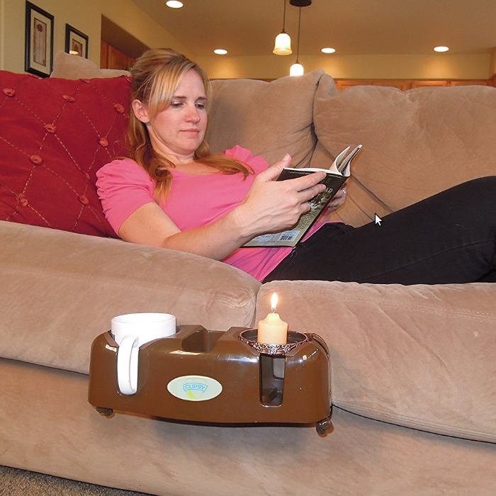 Cupsy Couch and Recliner Drink Caddy