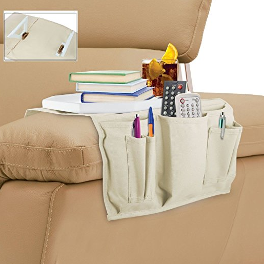 Kovot TV Remote Couch Caddy Tray Organizer