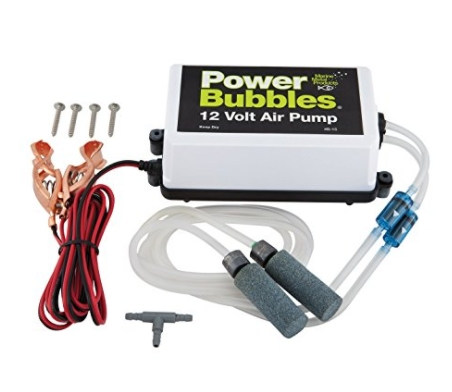 Marine Metal Products 12V DC Power Bubbles Aeration System