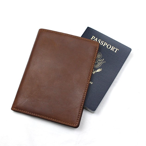 Habitoux Leather RFID Blocking Travel Wallet