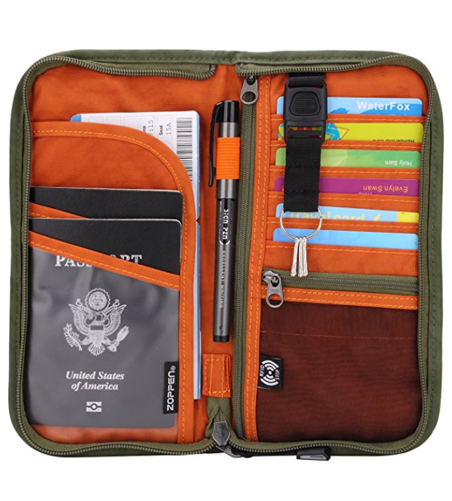 Zoppen RFID Documents Organizer & Wallet
