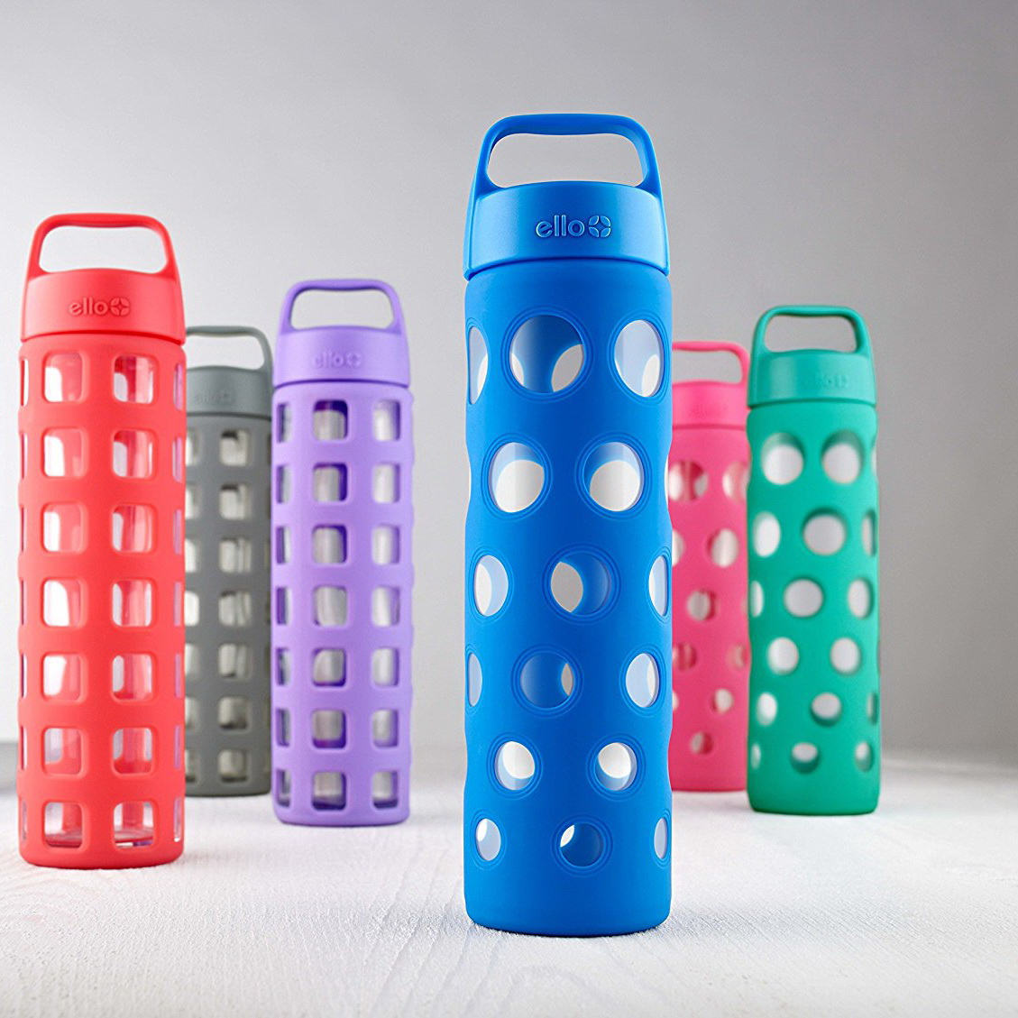 Ello Pure Fizz Glass Water Bottle