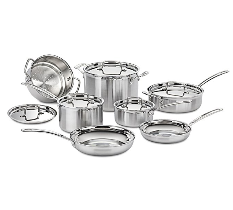 Cuisinart Multiclad Induction Pan Set