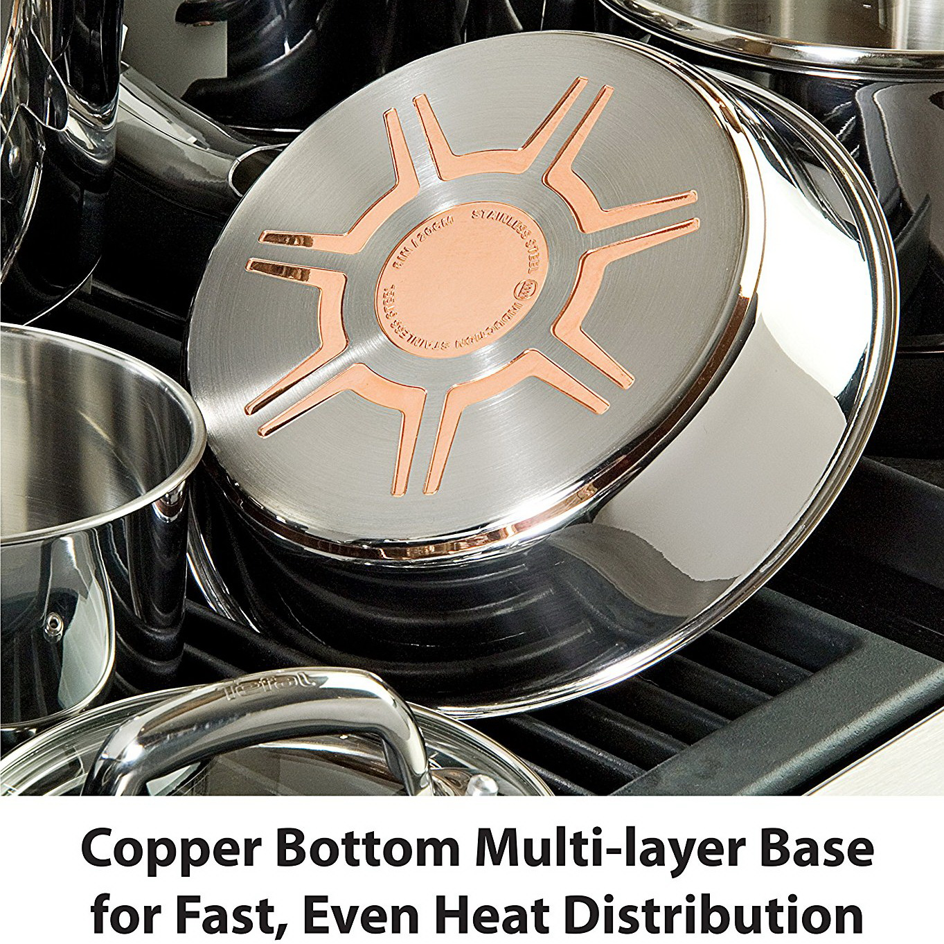 T-fal Ultimate Copper Bottom Cookware Set