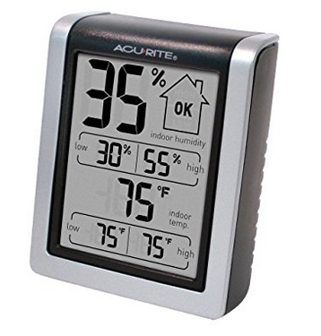 AcuRite Indoor Temperature & Humidity Monitor